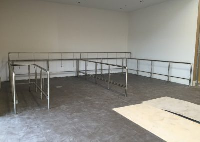 Stainless Steel Trolley Bay