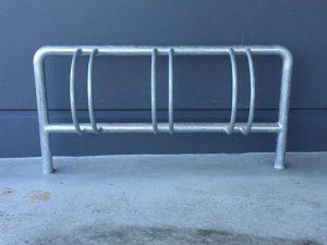 Galvanised 3 Bike Rack - BR3
