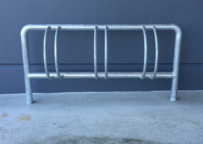 Galvanised 3 Bike Rack - BR3