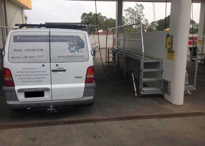 Multi-Step Car Wash Platform