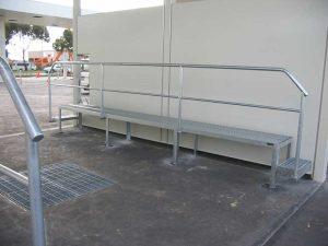 Car Wash Platform & Grates