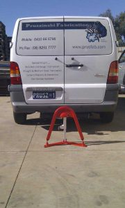 Fold Down Parking Space Bollard