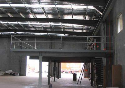 Mezzanine Handrail