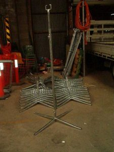 Telescopic & Collapsible Cable Stands