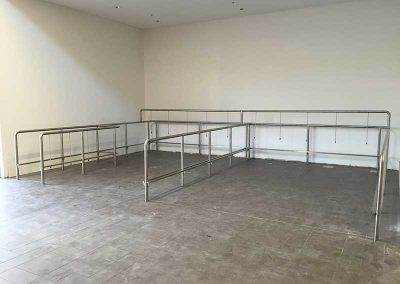 Stainless Trolley Bay
