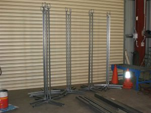Solid Cable Stands