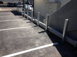 Galvanised Fixed Bollards
